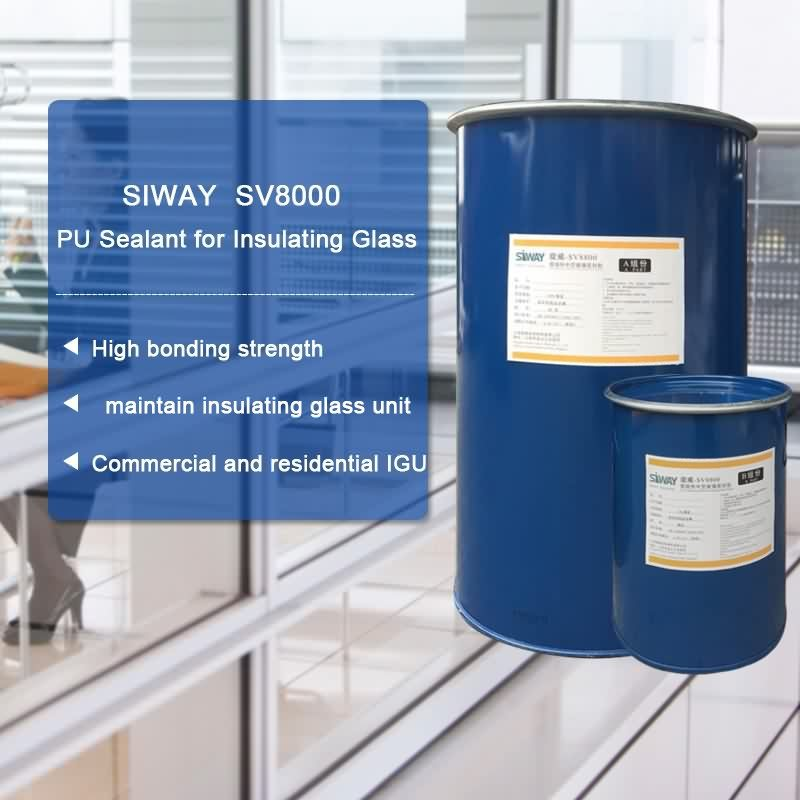 19 Years manufacturer SV-8000 PU Sealant for Insulating Glass for Manchester Factories