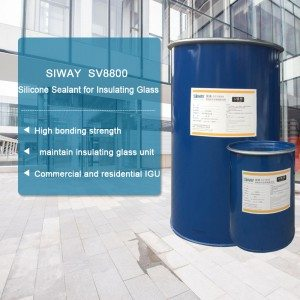 100% Original Factory SV-8800 Silicone Sealant for Insulating Glass to India Factory