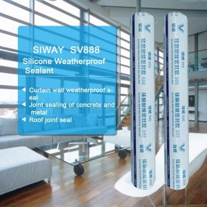 Professional Design SV-888 Weatherproof Silicone Sealant for Romania Manufacturers