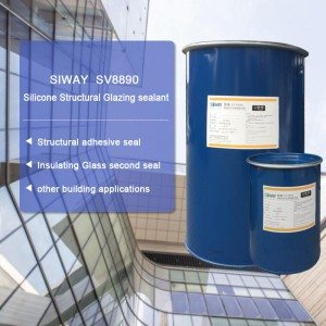 25 Years Factory SV-8890 Two-component Silicone Structural Glazing Sealant for Mumbai Factory