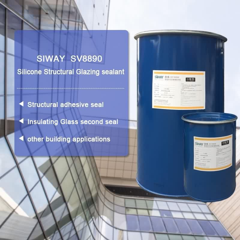 11 Years Factory SV-8890 Two-component Silicone Structural Glazing Sealant for Birmingham Factory