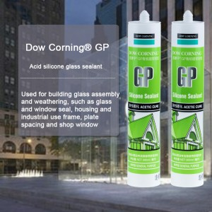 Dow Corning® GP Glass and metal sealant.
