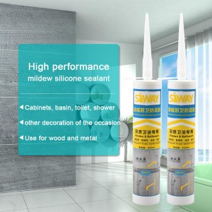 High performance mildew silicone sealant