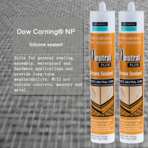 Dow Corning Neutral Plus silicone sealant