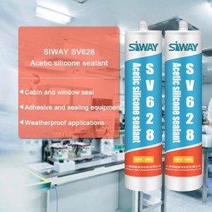 13 Years Manufacturer SV-628 Acetic Silicone Sealant for Swiss Factories