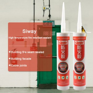 SV-9300 Fireproof mastic silicone