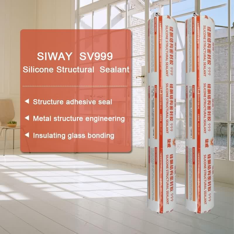 Well-designed SV-999 Structural Glazing Silicone Sealant for Lyon Factories
