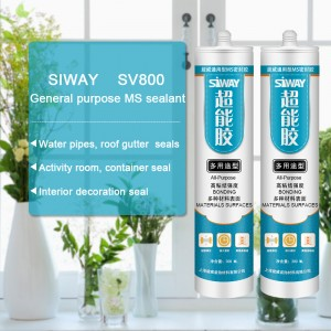 8 Year Exporter SV-800 General purpose MS sealant for Congo Manufacturers