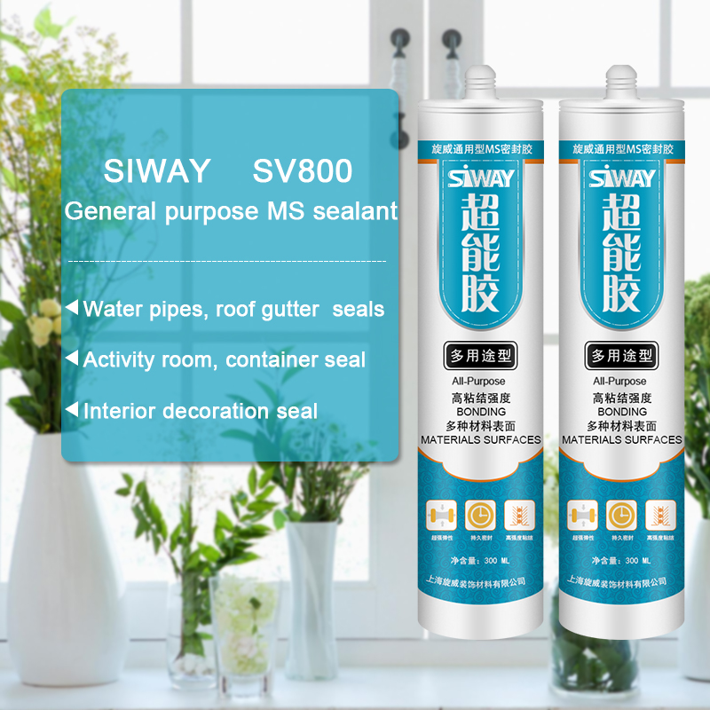 Wholesale 100% Original SV-800 General purpose MS sealant for Cyprus Factory