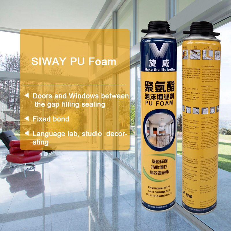 Wholesale Distributors for Siway PU FOAM for Russia Manufacturer