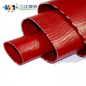8 Year Exporter Suction Hose Pipe - HEAVY DUTY PVC LAYFLAT HOSE (10 BAR) – Sanjiang