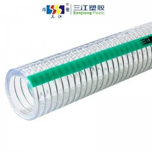 FOOD GRADE PVC STEEL WIRE HOSE