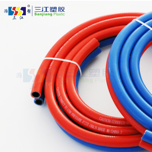 Wholesale Dealers of Water Suction Hose - PVC TWIN WELDING HOSE – Sanjiang