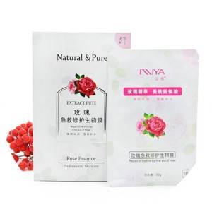Roses biology facial mask
