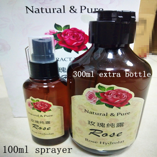 3 Korea natural roses water moisturizing sprayer skin care set whitening – Chinlee Shining