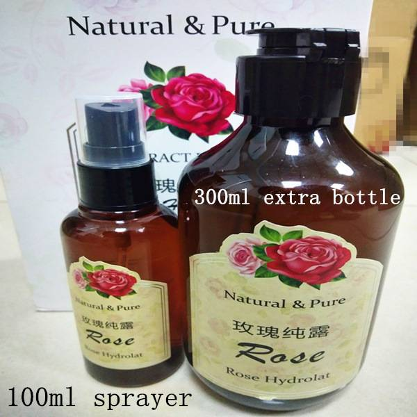 3 100% pure roses hydrolat hydrating oem skin care kit – Chinlee Shining