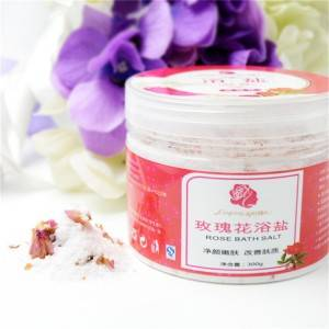 Rose Dry Flowers Bath Salts
