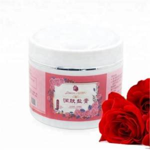 Rose Bath Salts Scrub  Cream