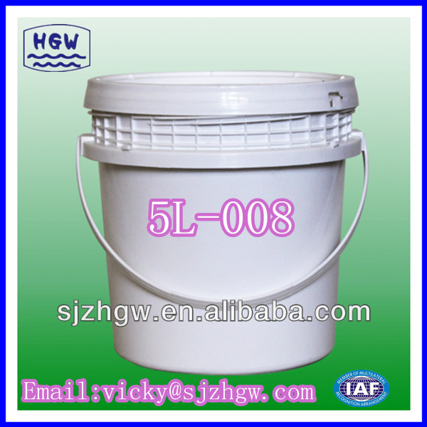 (5L) screw Top Pail pikeun kimia