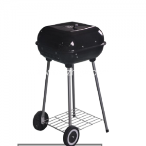 Grill Square Charcoal grill black color