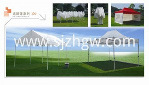 Ruangan Canopy 10 × 20 'Pop Up Party Tent Tables Gazebo