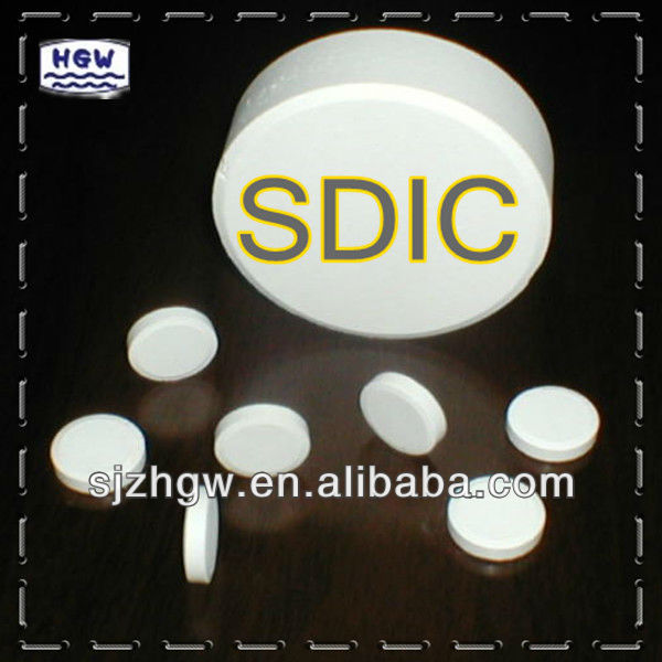 20g Mini Chlorine Tablets,SDIC tablet