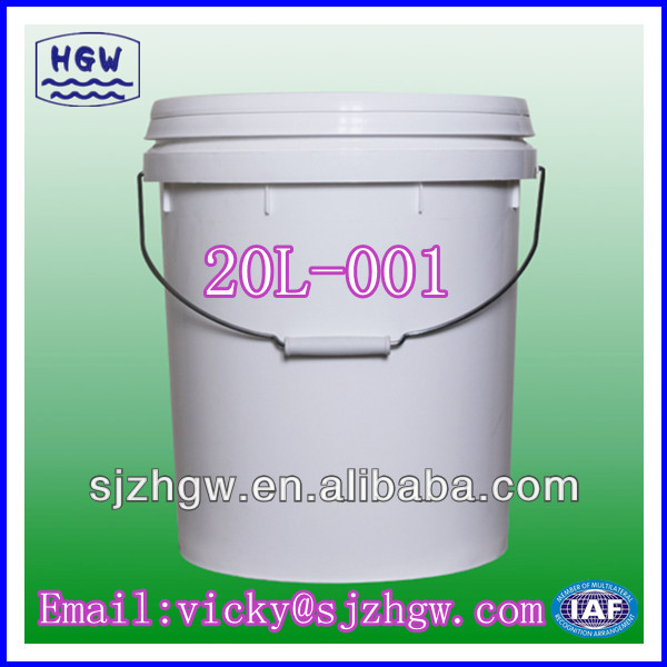 20L plastic packaging bucket / balde