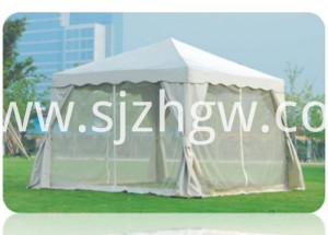 Folding tent gazebo mosquito netting
