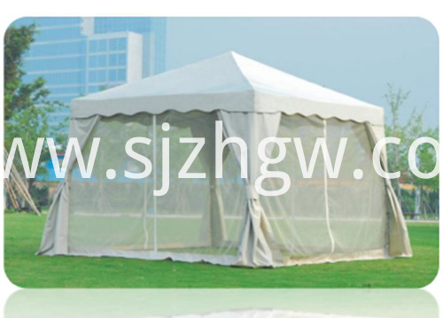 Folding tent gazebo mosquito netting Featured Image