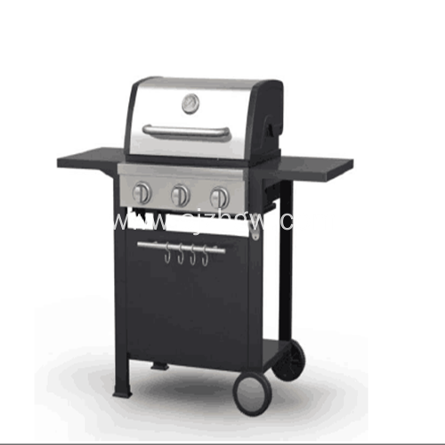 NEW 3 Burner Gas Barbecue Outdoor Garden BBQ Patio Grills Featured Image
