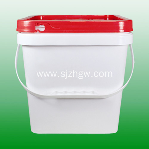 UN Certificated plastic pail 10L square pail Featured Image