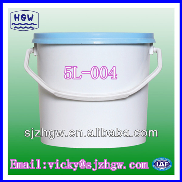 5L Easy Open Plastic Pail