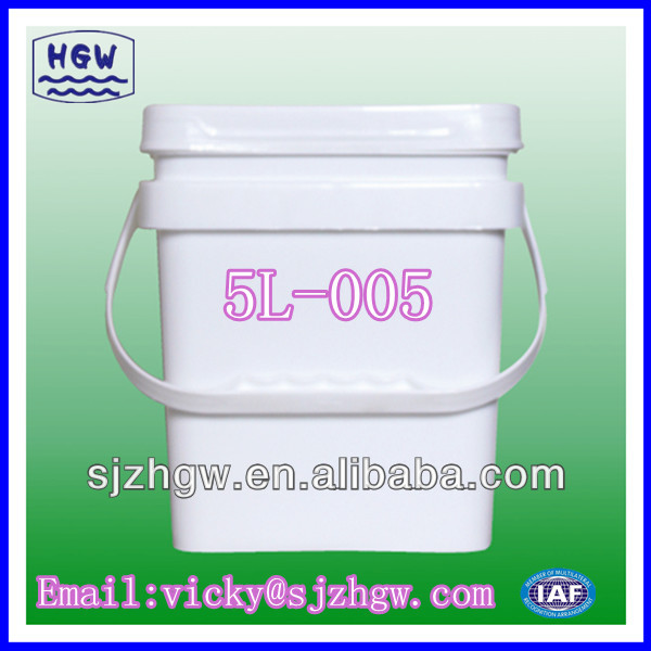 5L Square Пластикалық Pail