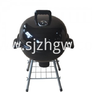 Outdoor Cooking Utstyr Round Table Top Barbecue Grill