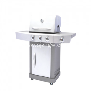 BBQ Grill Stainless Steel Burners Barbekyu dengan sisi Burner