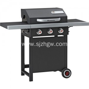 CE-apruba Gas BBQ na may Side Burner grill