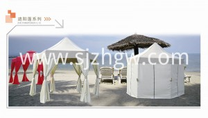 Hexagon Gazebo iyub Canopy Shelter Rain Steel Frame