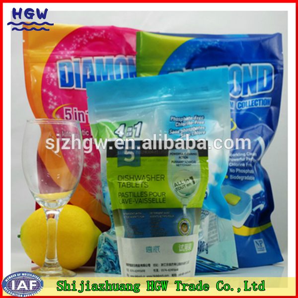 Doy-bag packing Dishwasher Tablet