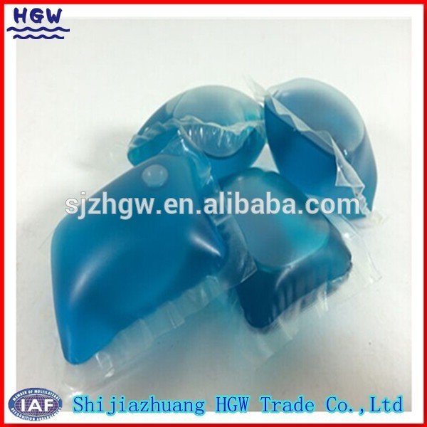 High Efficiency Liquid Detergent Water Soluble Film Packing Machine OEM