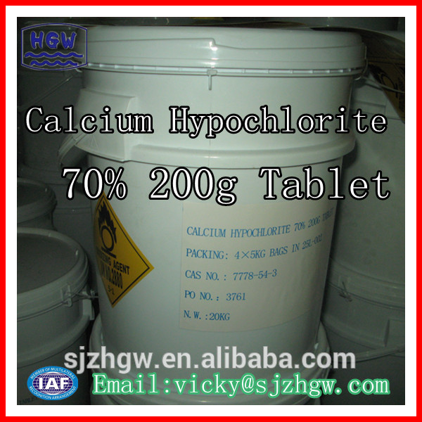 Hot sale Calcium Hypochlorite from China