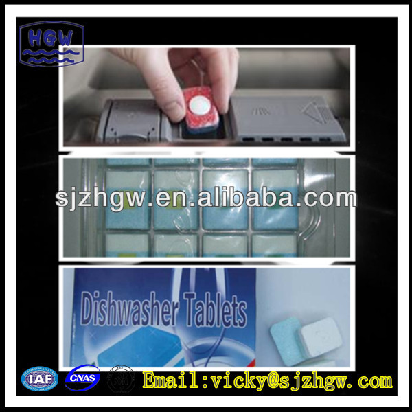 strong cleaning automatic dishwashing tablet
