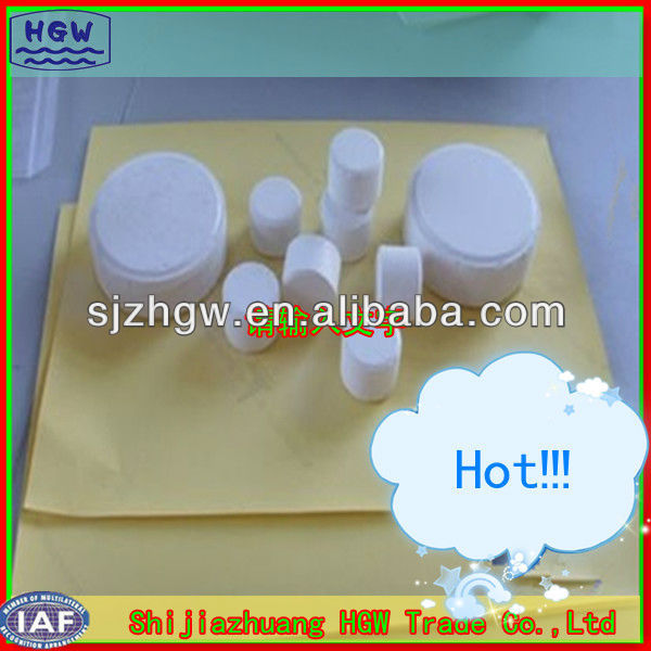 Swimming pool chemicals Calcium Hypochlorte CHC (sodium process)