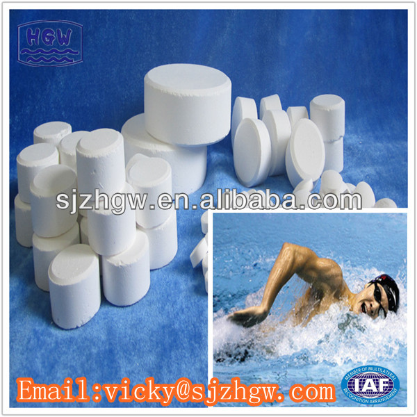 Swimming pool chemicals sdic60%