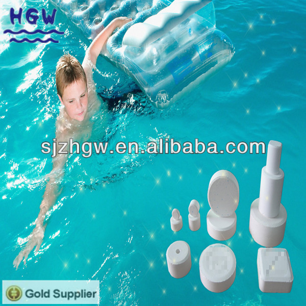 Swimming pools chlorine tablets SDIC dihydrate