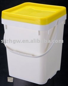 UN-Approved 10L Plastic Square Pail