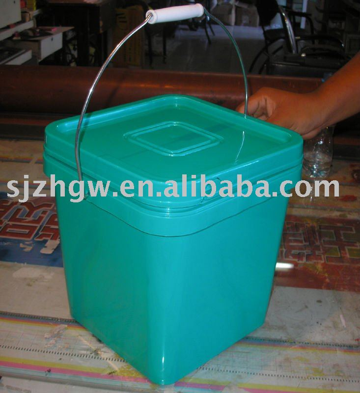 UN-Approved Plastic Square Bucket/Pail