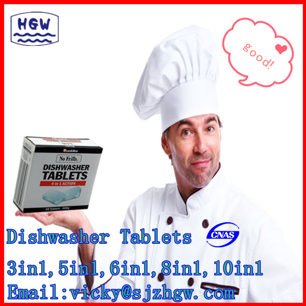 Washing Machine Dishwashing Tablet