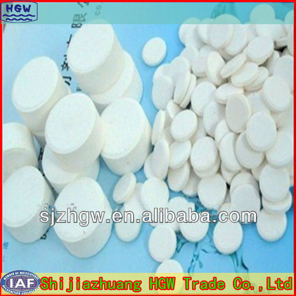 Water disinfection tabs Sodium Dichloroisocyanurate SDIC