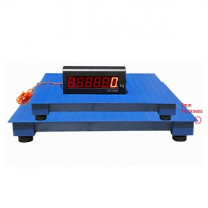 Wagon Scale made in China with Large screen