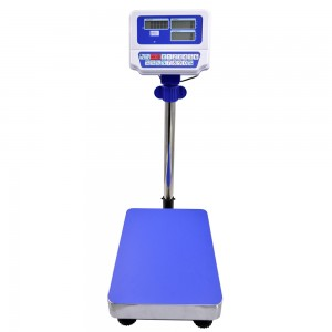 FCN-V10DL bench scale with 430 stainless steel platform and pan
